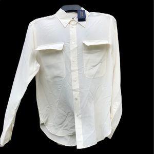 Polo by Ralph Lauren Silk Button Down Shirt
